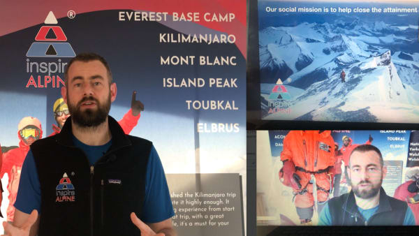 Inspirational Everest webinars for schools or groups