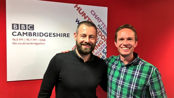 BBC Radio Cambridgeshire interview