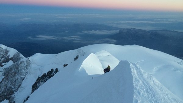 Mont Blanc Ascent Aug 2021