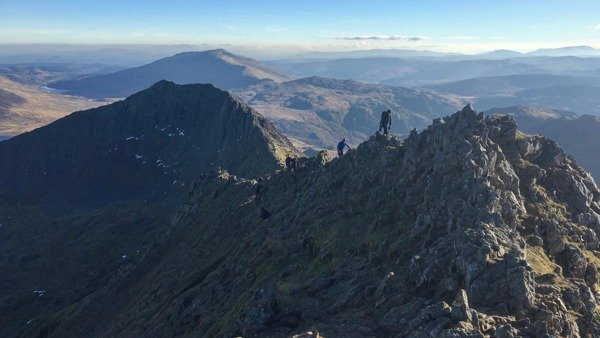 Crib Goch scramble to Snowdon 6 September